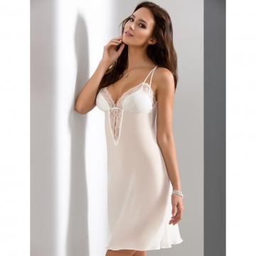 Sexy Lingerie Quince - Light Cream Lace Chemise