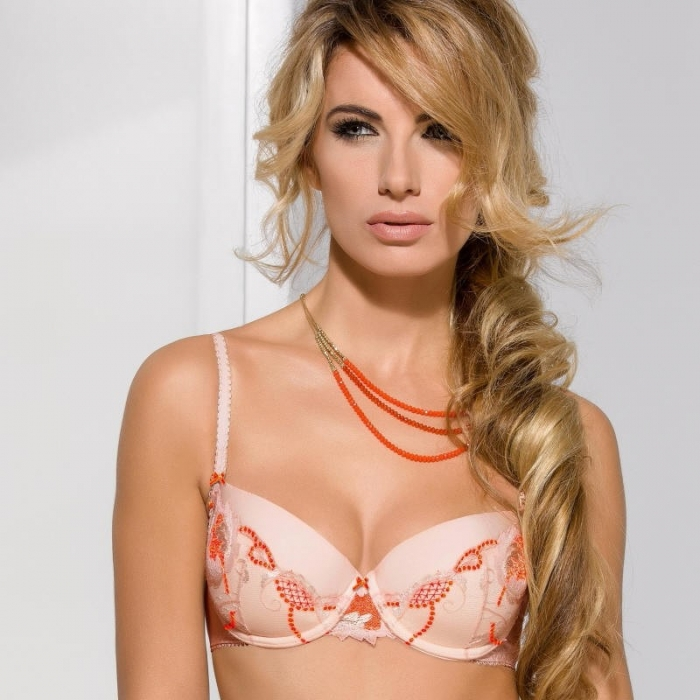 Sweetie - Apricot Push up Bra