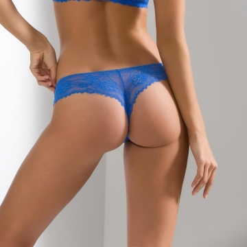 Thongs Blueberry - Blue Lace Thongs