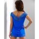 Blueberry - Blue Lace Pajama Set