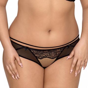 Miami Vibe Black - Mesh Bikini Panties