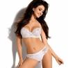 Calia - White Sheer Lace Bra Plus Sizes