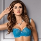 Madison - Blue Sheer Bra: 36DDD