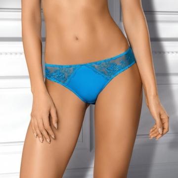 Clearance Madison - Blue Sheer Bikini: L