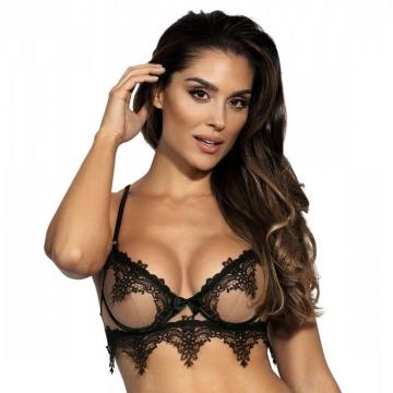 Hot Sevilla - Mesh Lace See Through Underwire Bra