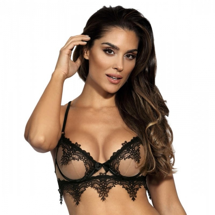 Hot Sevilla - Mesh Lace See Through Underwire Bra