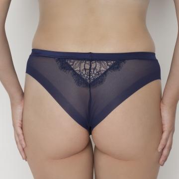 Cziczi - Navy Blue Cheeky Panties