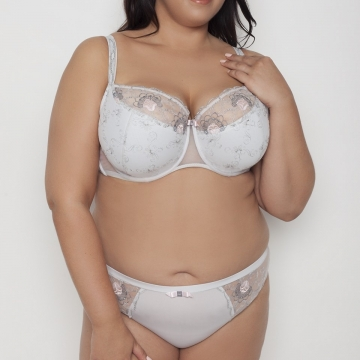 Flora - Half Unlined Bra Plus Size
