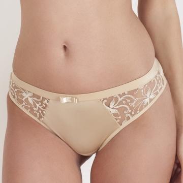 Gardenia - Beige Cheeky Panties