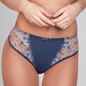 Adora - Ink Blue Cheeky Panties