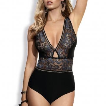 Confetti - Sheer Lace Bodysuit