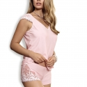 Cindirella - Powder Pink Pajama Set