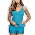Twist - Turquoise Pajama Set