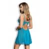 Twist - Turquoise Sheer Chemise