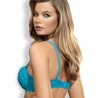 Twist - Turquoise Push up Bra