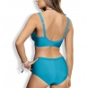 Twist - Turquoise Plus Size Unlined Bra