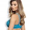 Twist - Turquoise Sheer Balconette Bra