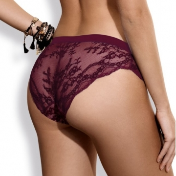 Bikini Panties Eden Chic - Burgundy Lace Panties