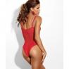 Si - Lace Bodysuit: L