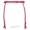 Framboise - Strawberry Red Garter Belt