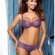 Figue - Purple Mesh Cheeky Panties
