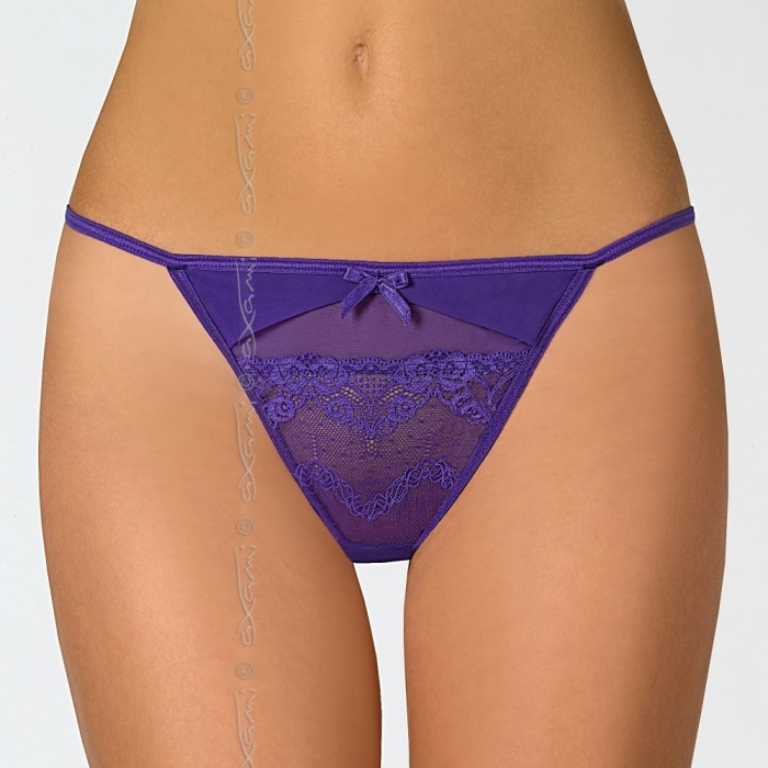 Safran - Purple Lace G-String
