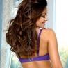 Safran - Purple Unlined Balconette Bra
