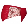 Vin Rouge - Red Mesh Panties