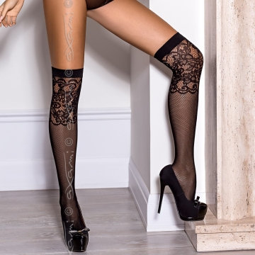 Accessories Blackjack - Fishnet Over-the-knee Stay-Ups