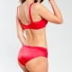 Madison - Red Full Coverage Bra Plus Sizes
