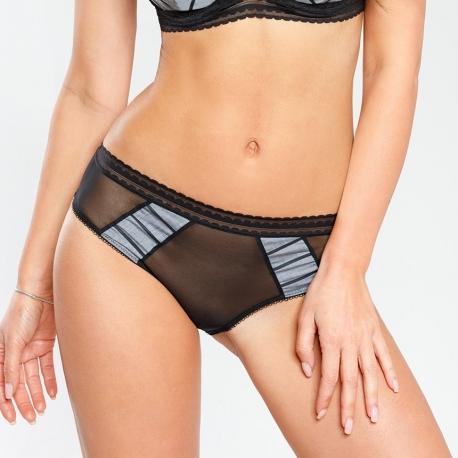 Avero - Black Mesh Panties