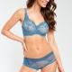 Wish - Blue Mesh Bikini Maxi