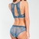 Wish - Blue Lace Push up Bra