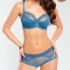 Wish - Blue Unlined Maternity Bra