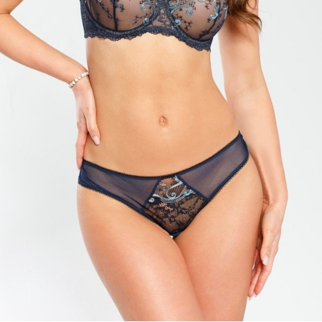 Olympia - Lace Mesh Thongs