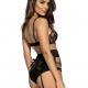 Seductive Woman 3 - Black Sheer Bra