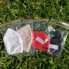 Protective Designer Face Mask w/Filter Pocket