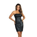 Black Bodycon Dress - Queen of The Night 3