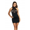 Black Bodycon Dress - Queen of The Night 7