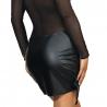Black Mesh Dress - Queen of the Night 12