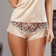 Tiffany - Light Beige Night Shorts