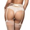 Bella - Mesh Seamless Thongs Cream