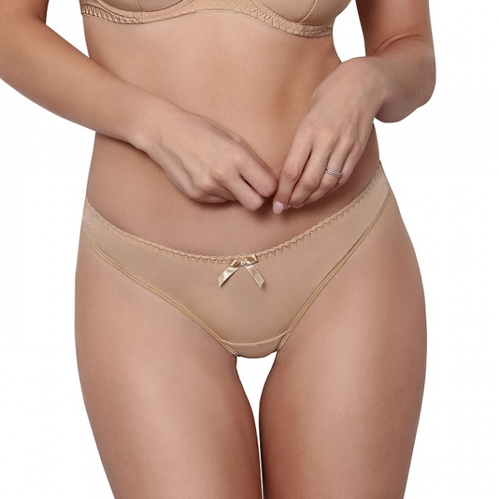 Miami Vibe Beige - Smooth Thongs