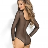 Long Sleeve Mesh Bodysuit