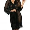 Hot Sevilla Robe - Black Mesh