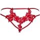 Hot Sevilla Red - Sheer Thongs