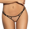 Hot Sevilla Black - Mesh Thongs