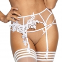 Hot Sevilla White - Garter Belt