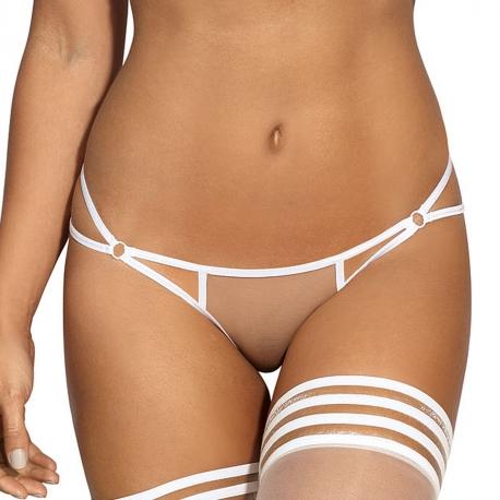 Hot Sevilla White - Mesh Thongs