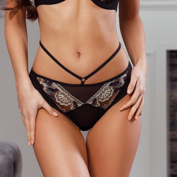 Ginger - Black Sheer Panties